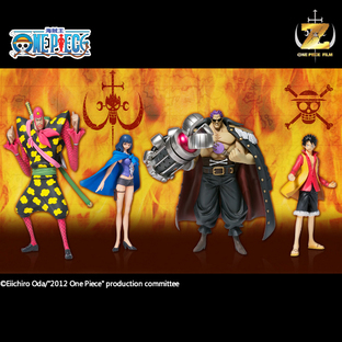[WEB limited] Super ONE PIECE STYLING~FILM Z Special~Luffy VS. NEO Navy Set~