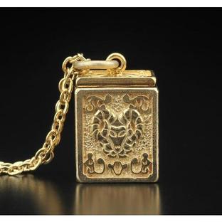 GOLD CLOTH BOX PENDANT ARIES [2017年2月發送]