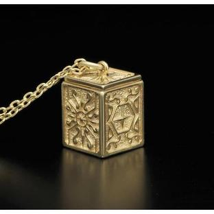 GOLD CLOTH BOX PENDANT LIBRA [2017年2月發送]