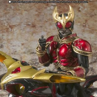 S.I.C. Kiwami Tamashii Masked Rider Kuuga Rising Mighty Form & Beat Chaser 2000 Set