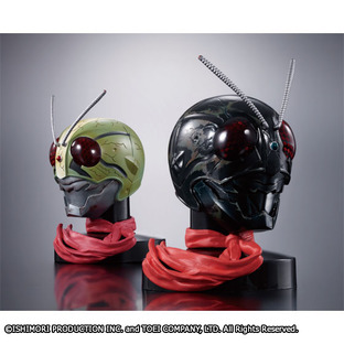[Bandai Asia Web Shop 聖誕特別活動] Mask Collection Premium - Masked Rider THE NEXT Double Rider SP version Set