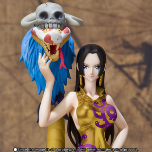 Figuarts ZERO Boa・Hancock & Salome -Gold also suits with me Ver.-