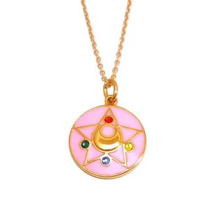 Sailor moon R Crystal brooch design Silver925 pendant(Color) [Jun 2014 Delivery]