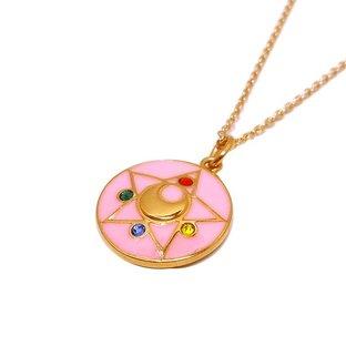 Sailor moon R Crystal brooch design Silver925 pendant(Color) [Oct 2014 Delivery]