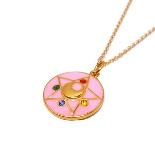 Sailor moon R Crystal brooch design Silver925 pendant(Color) [Nov 2014 Delivery]