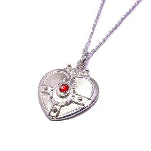 Sailor moon S Cosmic heart compact design Silver925 pendant [Jun 2014 Delivery]