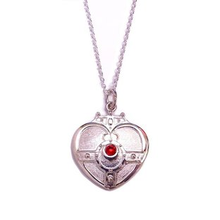 Sailor moon S Cosmic heart compact design Silver925 pendant [Oct 2014 Delivery]