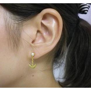 Sailor moon Silver925 pierce Gold coarting [Jun 2014 Delivery]