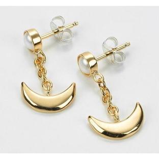 Sailor moon Silver925 pierce Gold coarting [2015年10月發送]