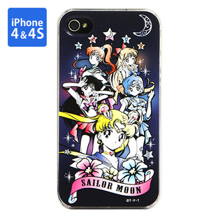 Cover for iPhone4&4s SAILOR MOON 5 star soldier (Gothic)