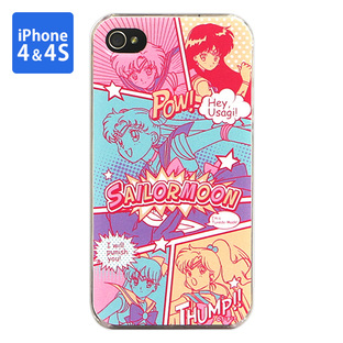 Cover for iPhone4&4s SAILOR MOON comic illustration