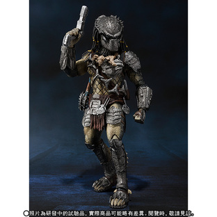 S.H.MonsterArts PREDATOR WOLF Heavy Armed Ver.