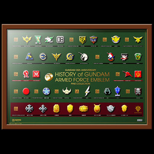 GUNDAM 35TH ANNIVERSARY PINS COLLECTION