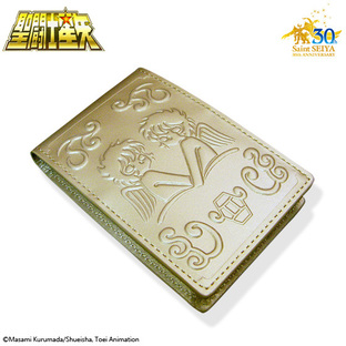 GOLD CLOTH BOX BUSINESS CARD HOLDER GEMINI