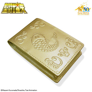 GOLD CLOTH BOX BUSINESS CARD HOLDER PISCES