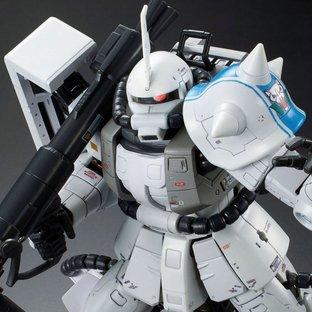RG 1/144 MS-06R-1A SHIN MATSUNAGA'S ZAKU II [2021年10月發送]