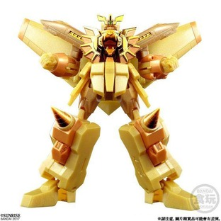 SUPER MINIPLA GAOGAIGAR GOLDEN PLATED EDITION W/O GUM [2018年4月發送]