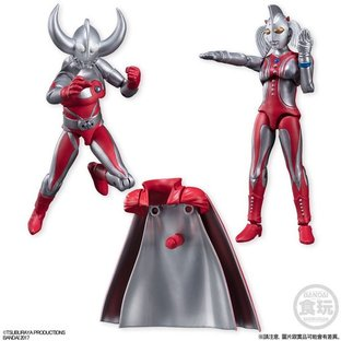 SHODO ULTRAMAN VS PB 01 FATHER & MOTHER OF ULTRA SPECIAL SET W/O GUM [2018年4月發送]