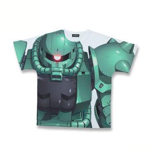 機動戰士高達 MS-06 全面覆蓋T-Shirt