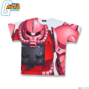 GUNDAM Full Panel T-shirt MS-06S