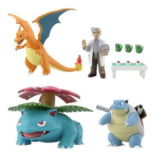 Pokemon Scale World Kanto Professor Oak Set