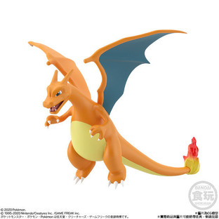 POKEMON SCALE WORLD KANTO CHARIZARD W/O GUM
