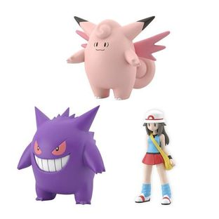 Pokemon Scale World Kanto Leaf & Clefable & Gengar [2020年1月發送]