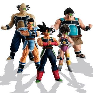 HG DRAGONBALL GATHER! BARDOCK'S TEAM