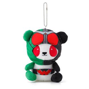 幪面超人W 熊貓公仔掛飾