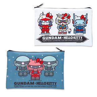 「GUNDAM & HELLO KITTY 和解企劃」拉鏈袋