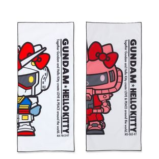 「GUNDAM & HELLO KITTY 和解企劃」面巾