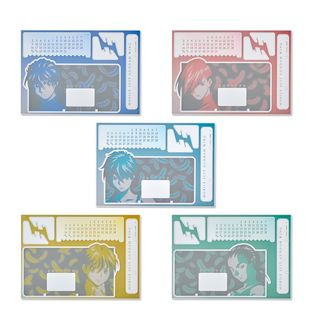 Mobile Suit Gundam Wing Tricolor-themed Calendar
