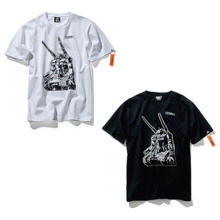 STRICT-G NEW YARK GUNTANK COLLAGE T-SHIRT