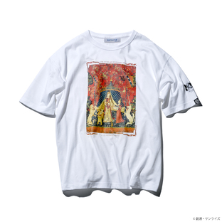 『GUNDAM UC』 10TH ANNIVERSARY BIG T-SHIRT THE LADY AND THE UNICORN