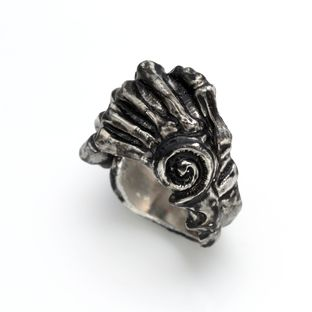 牙狼<GARO> 魔導輪薩魯巴之手戒指