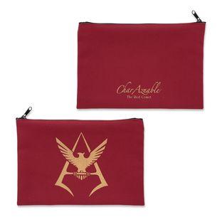 機動戰士高達  馬沙黃金標誌 拉鍊袋