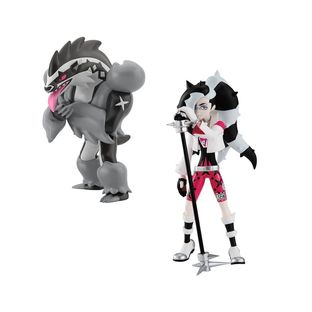 POKEMON SCALE WORLD GALAR PIERS & OBSTAGOON W/O GUM