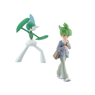 POKEMON SCALE WORLD HOENN WALLY & GALLADE W/O GUM