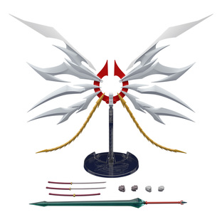 SUPER MINIPLA GEAR FIGHTER DENDOH PHOENIX ALAE & SWORD OF AKATSUKI W/O GUM