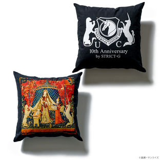『GUNDAM UC』 10TH ANNIVERSARY CUSHION TAPESTRY