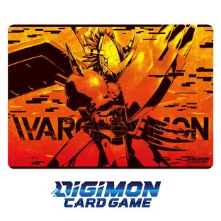 DIGIMON CARD GAME PLAY MAT WARGREYMON
