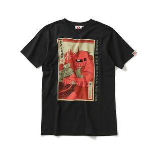 STRICT-G JAPAN 「GUNDAM」 T-SHIRT UKIYO-E CHAR ZAKU