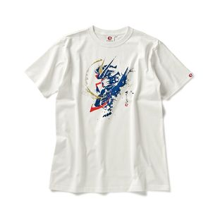 STRICT-G JAPAN 「GUNDAM SEED」 T-SHIRT BRUSH PAINTING FREEDOM GUNDAM