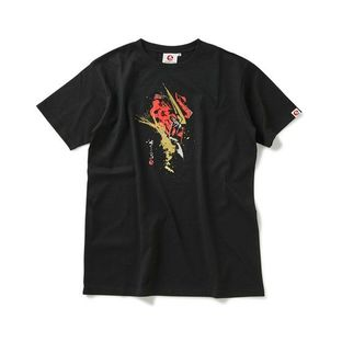 STRICT-G JAPAN 「GUNDAM SEED」 T-SHIRT BRUSH PAINTING JUSTICE GUNDAM