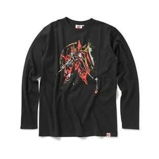 STRICT-G JAPAN 「GUNDAM SEED」 L/S T-SHIRT BRUSH PAINTING JUSTICE GUNDAM