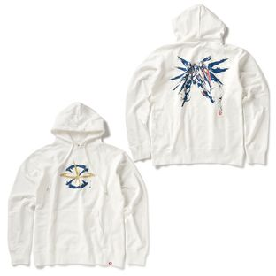 STRICT-G JAPAN 「GUNDAM SEED」 PARKA BRUSH PAINTING FREEDOM GUNDAM