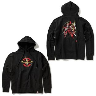STRICT-G JAPAN 「GUNDAM SEED」 PARKA BRUSH PAINTING JUSTICE GUNDAM