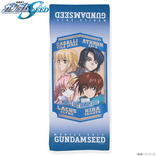 Characters Face Towel—Mobile Suit Gundam SEED