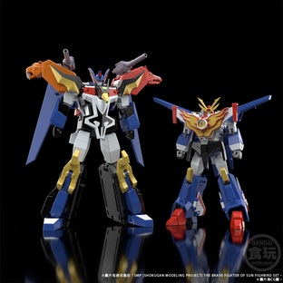 SMP [SHOKUGAN MODELING PROJECT] THE BRAVE FIGHTER OF SUN FIGHBIRD DRAIAS W/O GUM
