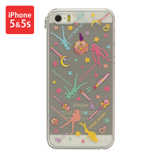 Cover for iPhone5&5s SAILOR MOON Silhouette